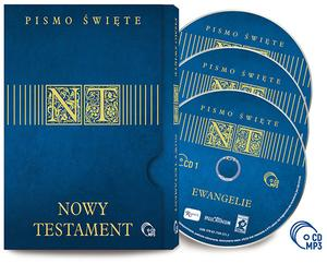 Nowy Testament- 3 p艂yty CD MP3